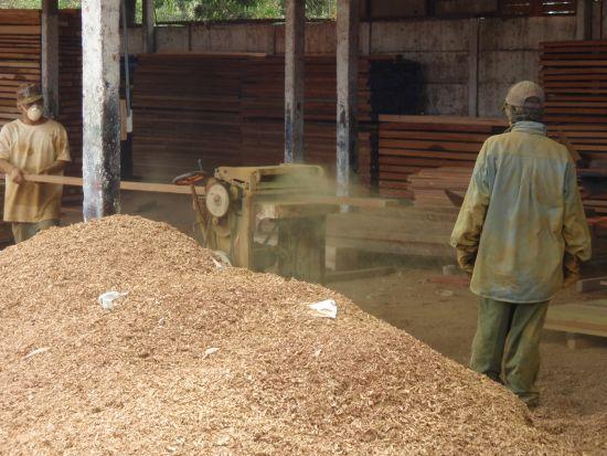 milling ipe in Brazil