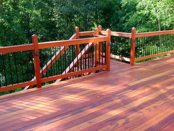 Tigerwood Decking Stairs