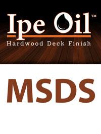 Ipe-oil-msds